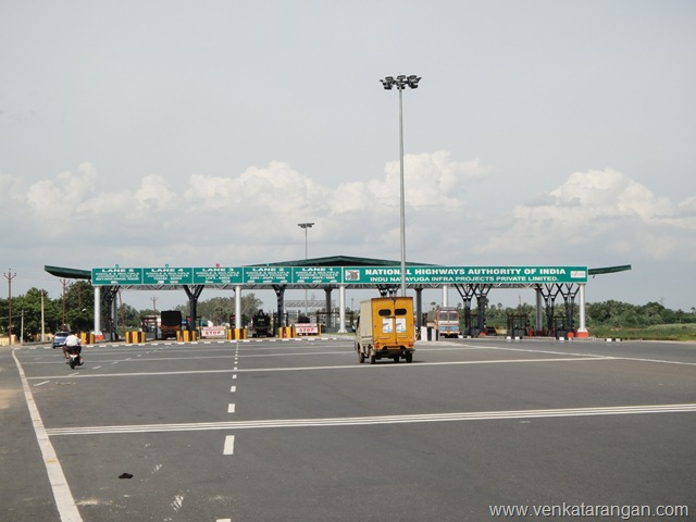 Chennai to Trichy NH45 TollBooths (1)