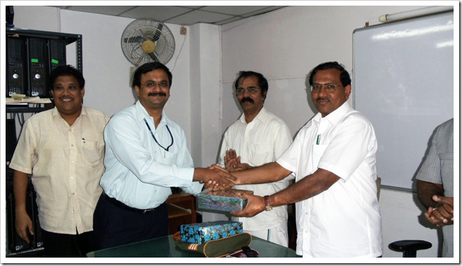 Felicitation to Mr.Ma Foi. K. Pandiyarajan, MLA