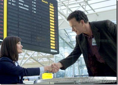 Tom Hanks and Catherine Zeta-Jones - The Terminal (2004)