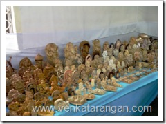 2500 Vinayaka Idols at Display in Sri Krishna Sweets