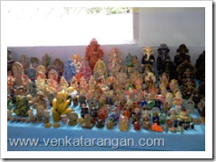 2500 Ganesha Idols at Display in Sri Krishna Sweets