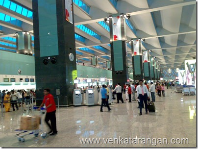 BENGALURU INTERNATIONAL AIRPORT DEPARTURE AREA