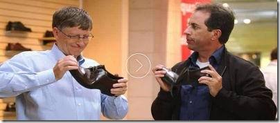 Bill Gates and Jerry Seinfeld - Advertisement 1