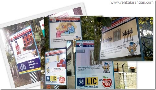 Public Safety Campaign Collage