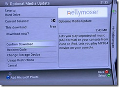 UPDATE Download to play MPEG4 with XBOX360