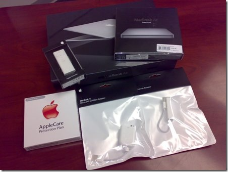 macbook air boxes