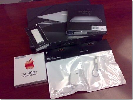 macbook air boxes