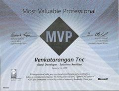 MVP Award 2008