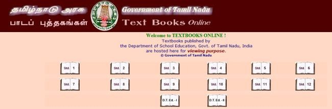 tamil nadu textbooks online