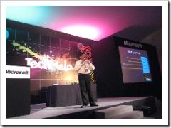 Janakiram MSV talking in TechMela 2007