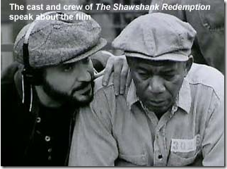 "Writer/Director Frank Darabont and the cast of ""The Shawshank Redemption"" speak about the film's growth"