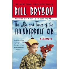 Cover Design of the The Thunderbolt Kid as seen in Amazon