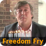 "Freedom Fry - ""Happy birthday to GNU"""