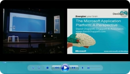 David Chappell talk on Microsoft Application Platform