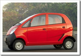 Tata Nano - Rs.1 Lakh car