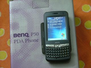 Benq P50 PDA phone
