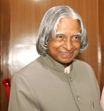 Dr.ABJ Abdul Kalam, President of India
