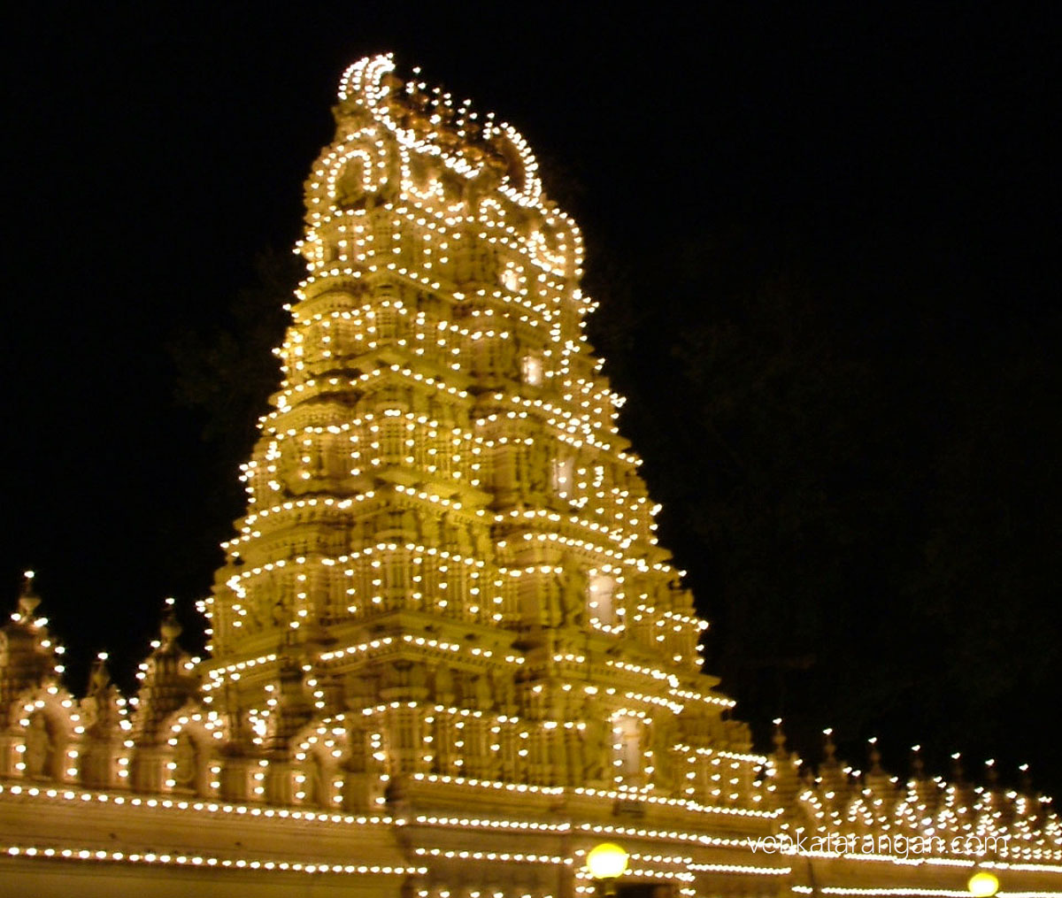 Sri Varaha Swamy temple inside the palace