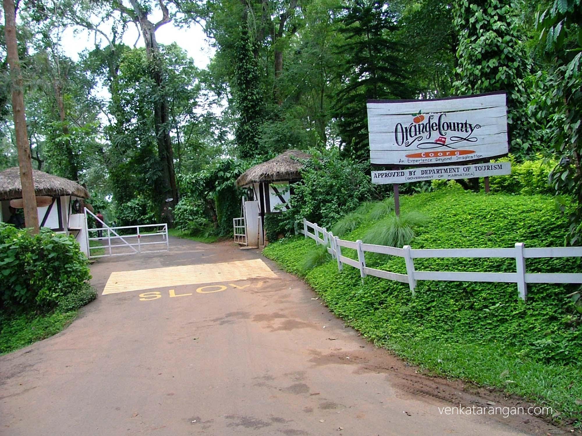 Orange Country resort, Coorg, Karnataka