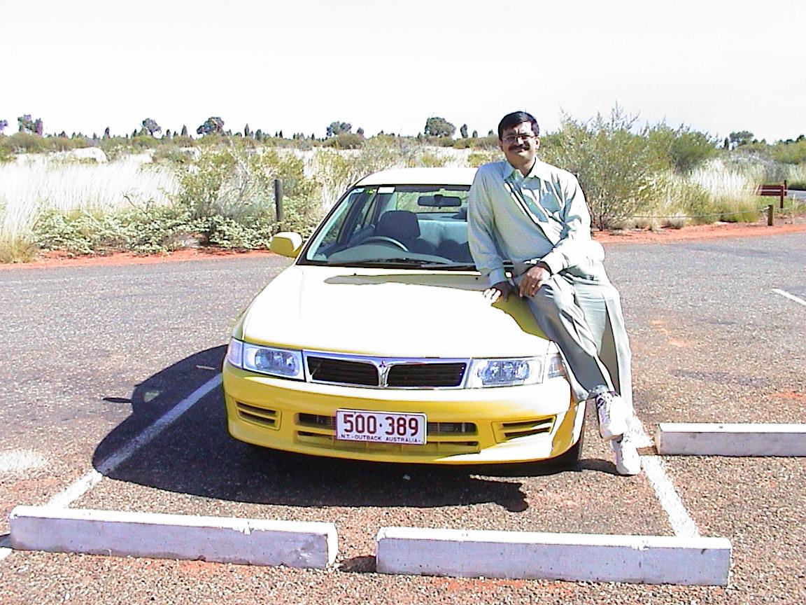 Australia-Yellow-Car-Mitsubishi