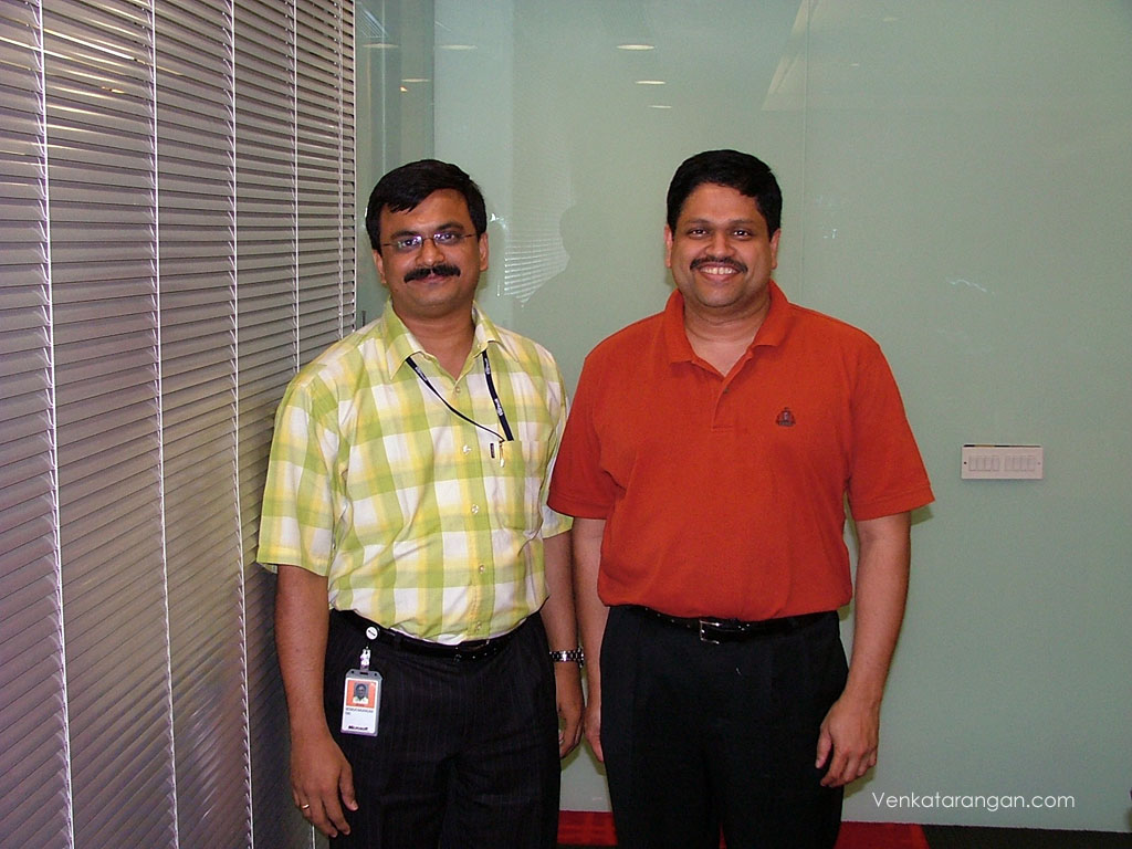 With Somasegar, Corporate Vice President - Microsoft