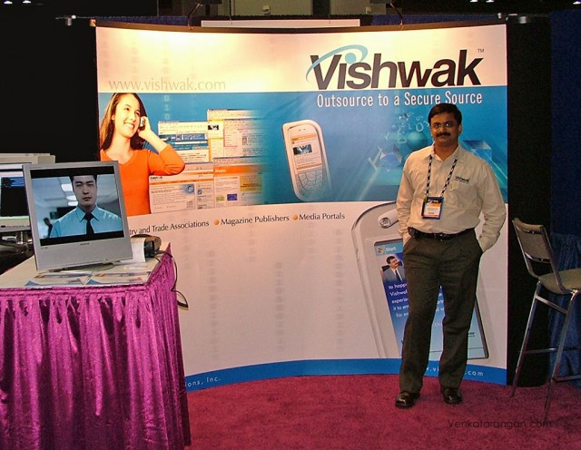 View of Vishwak - Booth #925, Tech Ed 2005, Orlando, FL