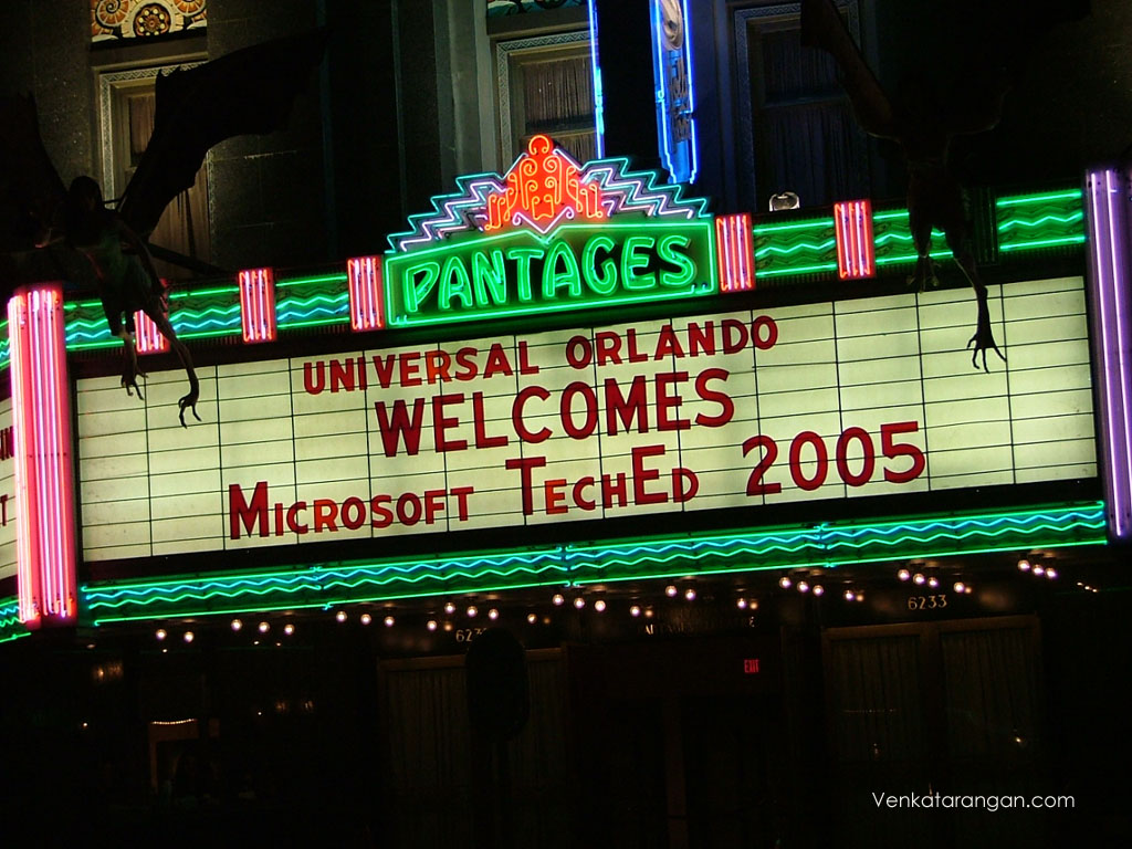 UNIVERSAL-TechEd2005 6