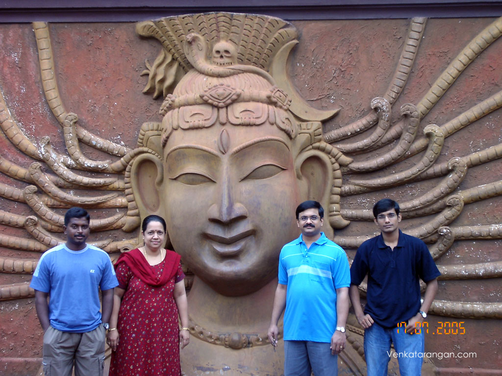 The famous Lord Siva - where the TeleSerial ஆடுகிறான் கண்ணன் was filmed