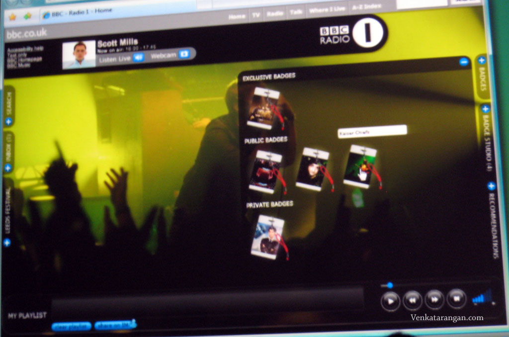 BBC Radio One Player