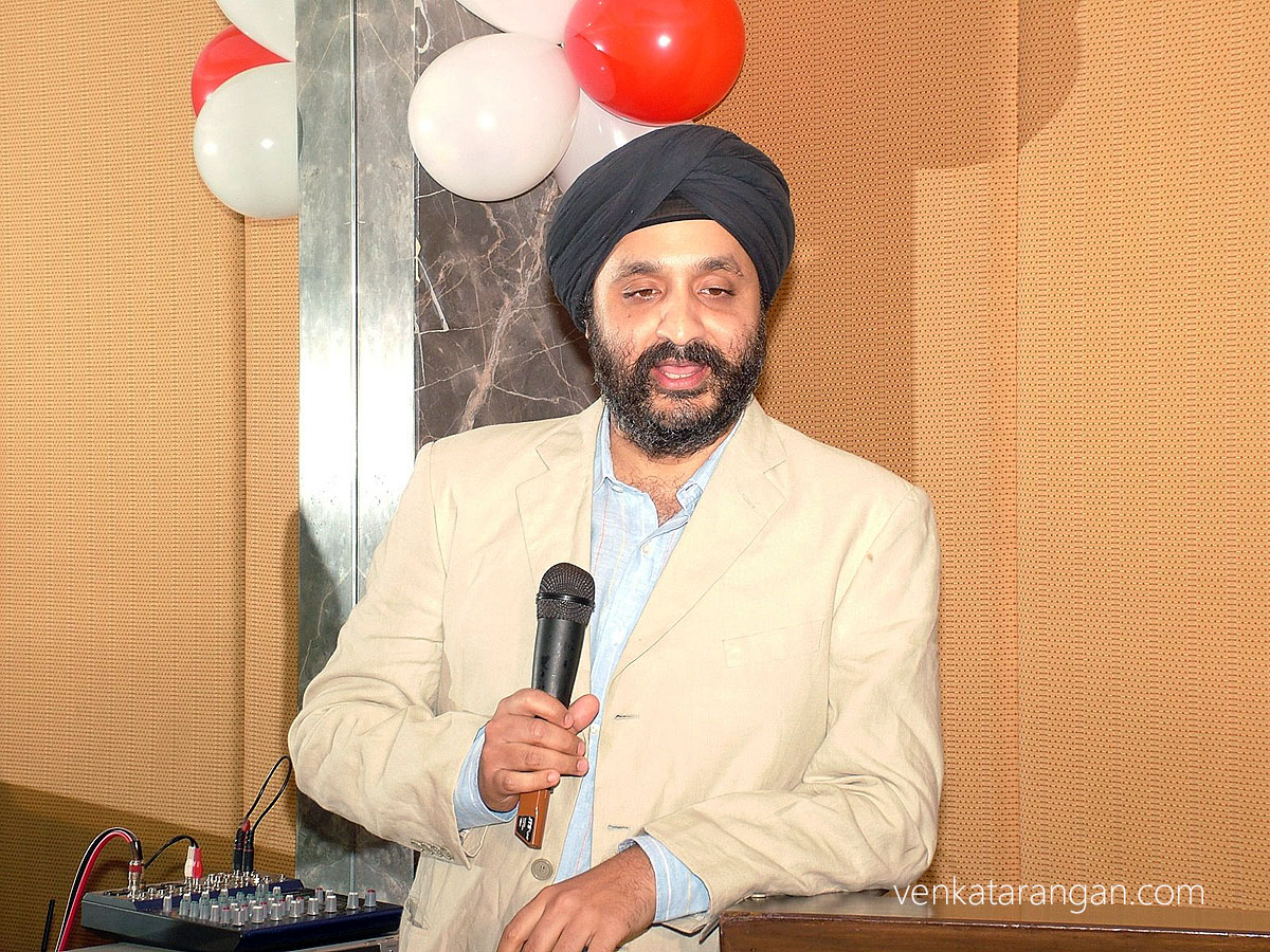 Mr Jaspreet Bindra (Country Manager India, MSN & Windows Live)