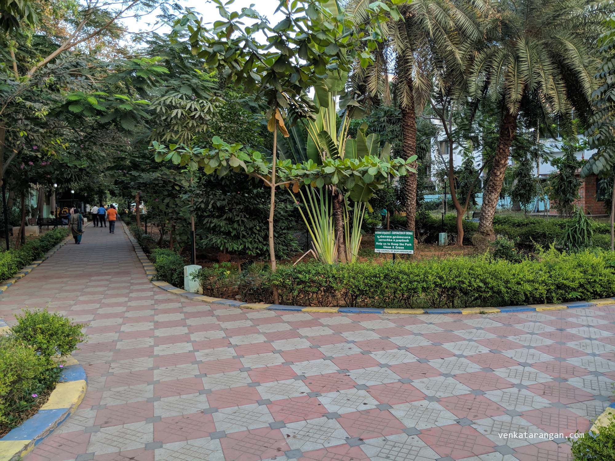 (Picture updated on 6 Mar 2018): Haddows Road Park, Chennai