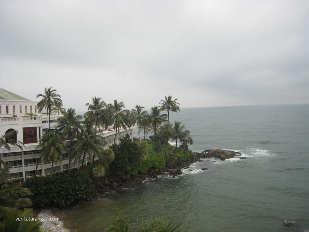Mount Lavinia Hotel and Indian Ocean
