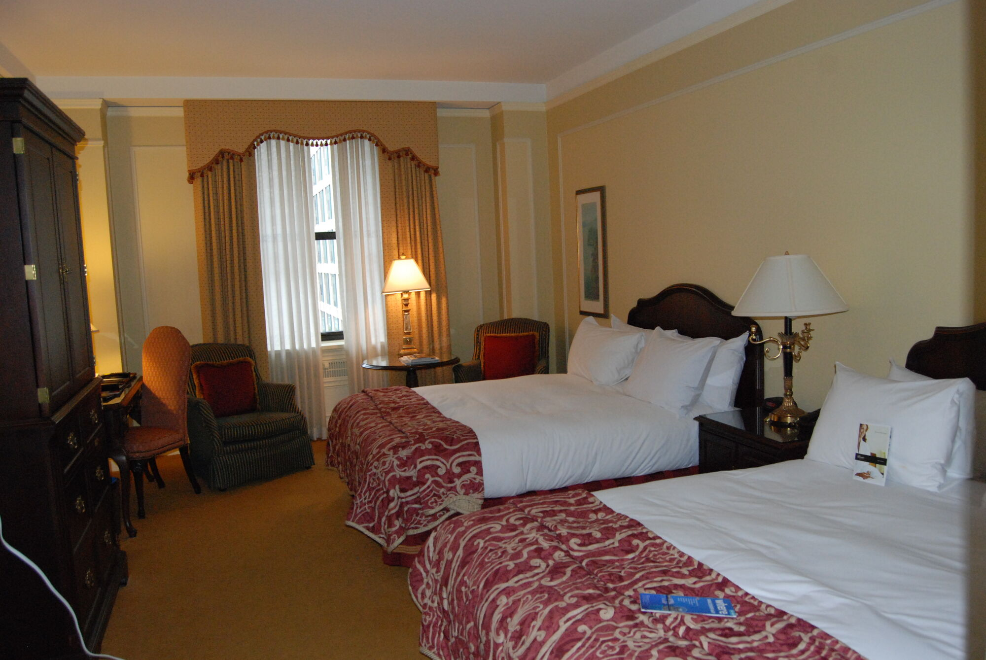 Room at Fairmont Hotel Vancouver