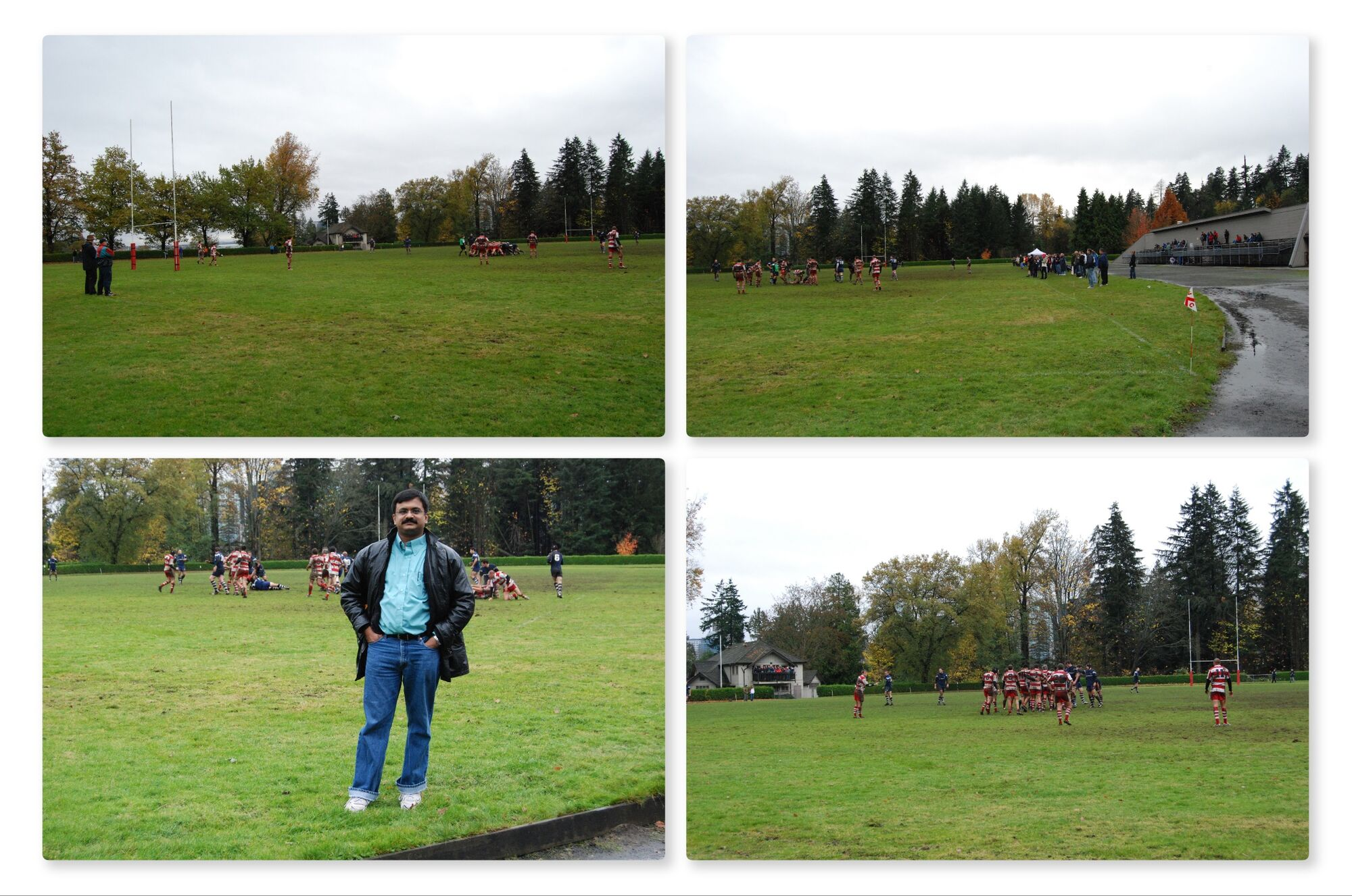 Rugby match at Stanley Park