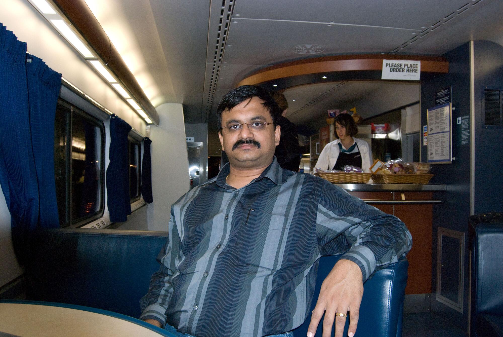 Amtrak Pantry
