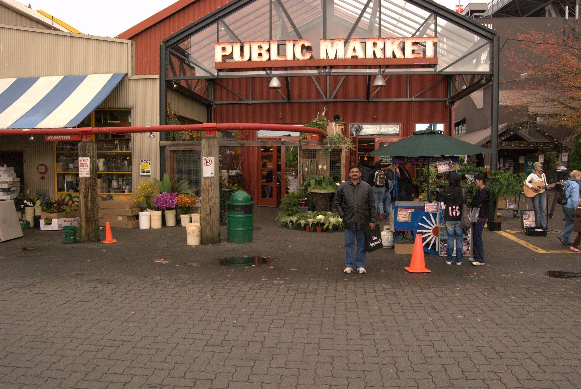 Granville Island Public Market Vancouver BC, Canada
