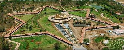 sripuram-srichakram-view