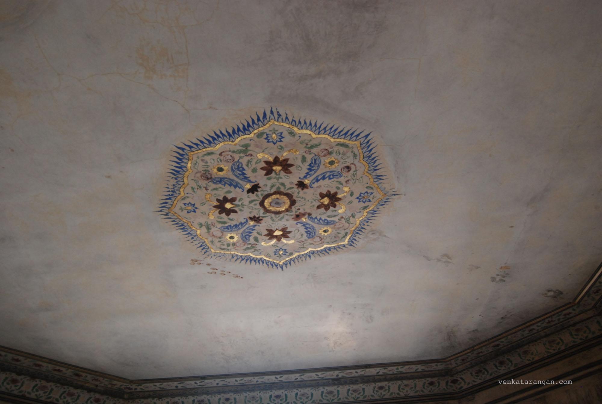 Jai Mandir with glass inlaid ceilings