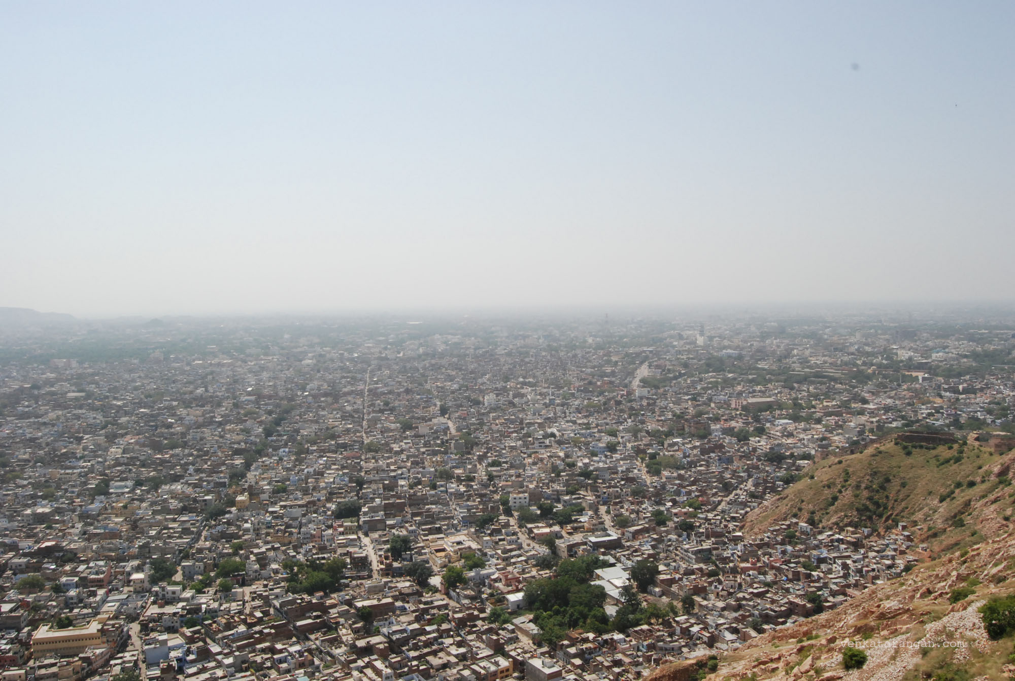 View of the city seen from Nahargarh Fort