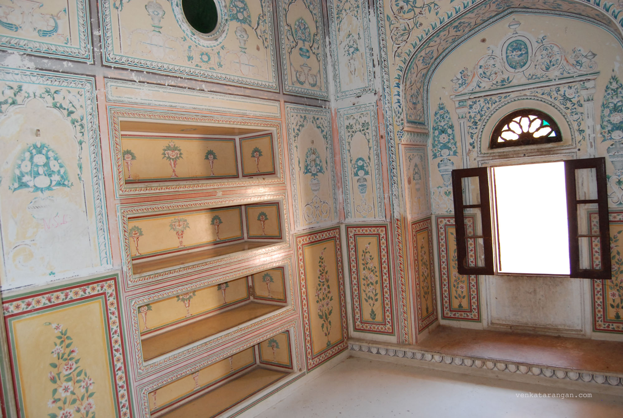 Queen chambers in Madhvendra Palace