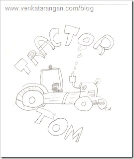 The Tractor Tom Diagram that I managed to draw