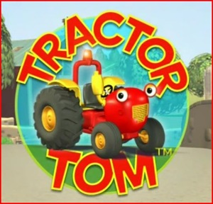 Original image of tractor tom from the DVD
