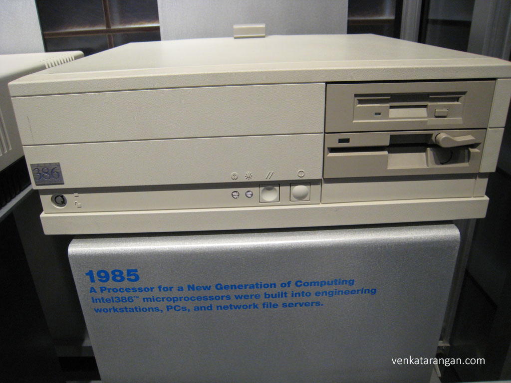 Intel Museum - 386 PC