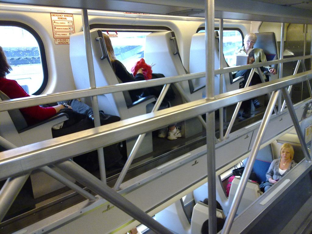 Caltrain from San Francisco to Cuptertino