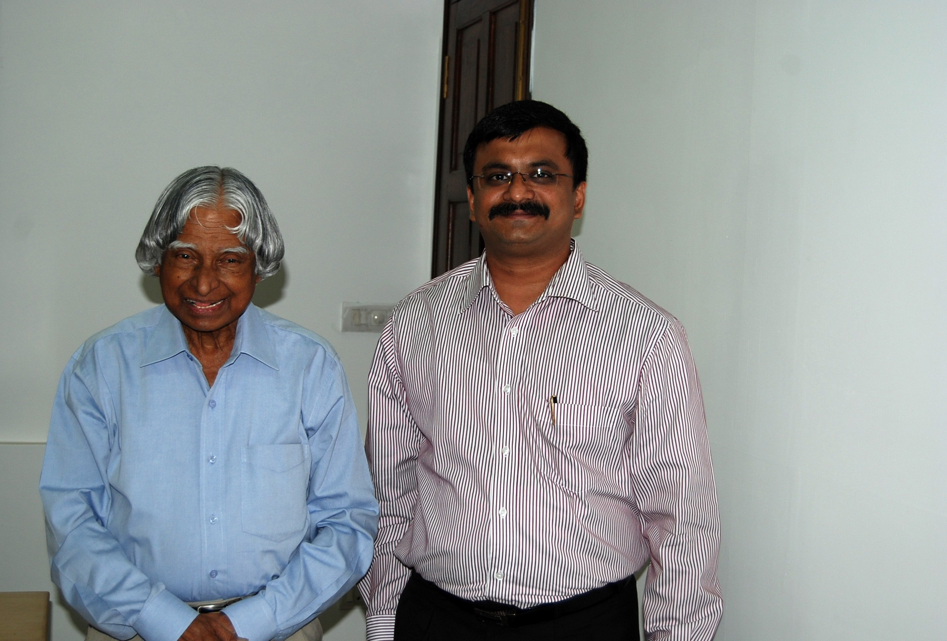 With Dr.A.P.J.Abdul Kalam, Former President of India (6 May 2010)