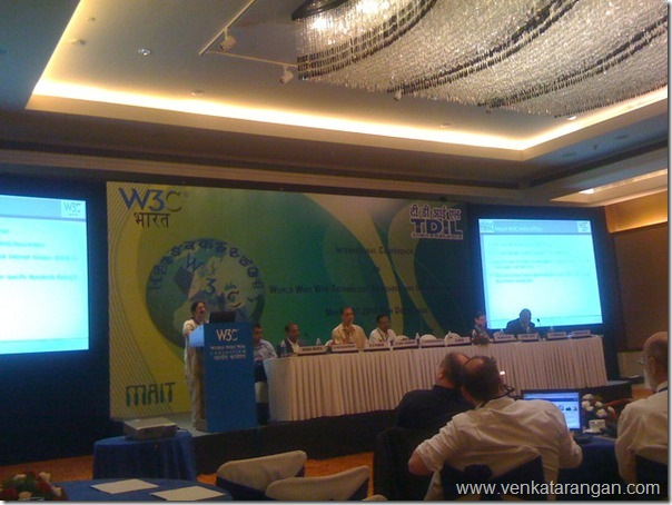 WWW: Technology, Standards and I18N Conference in New Delhi