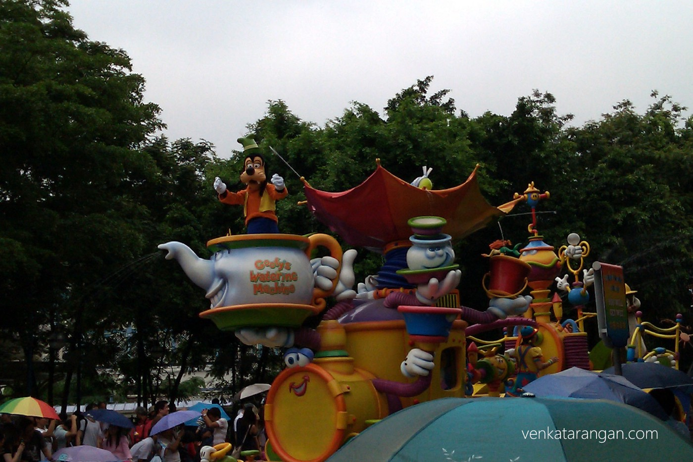 Evening Parade - Goofy's watering machine