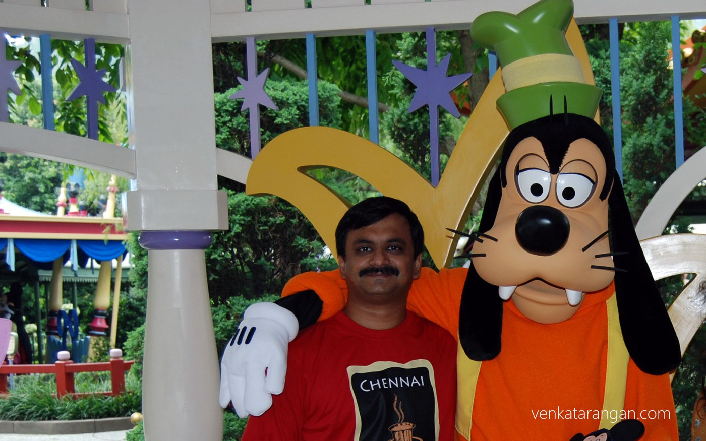 With my Childhood favourite Disney character - Goofy