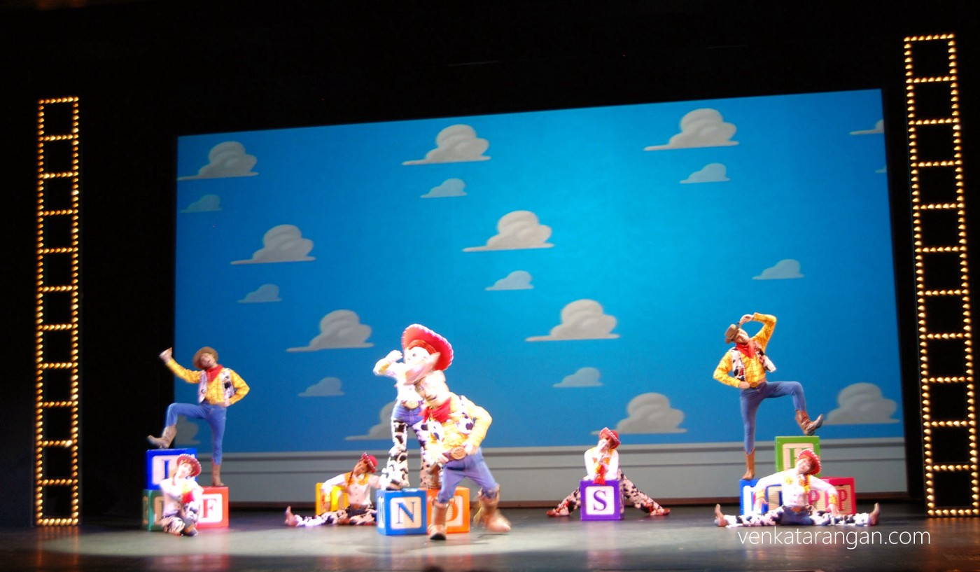 Toy story on stage
