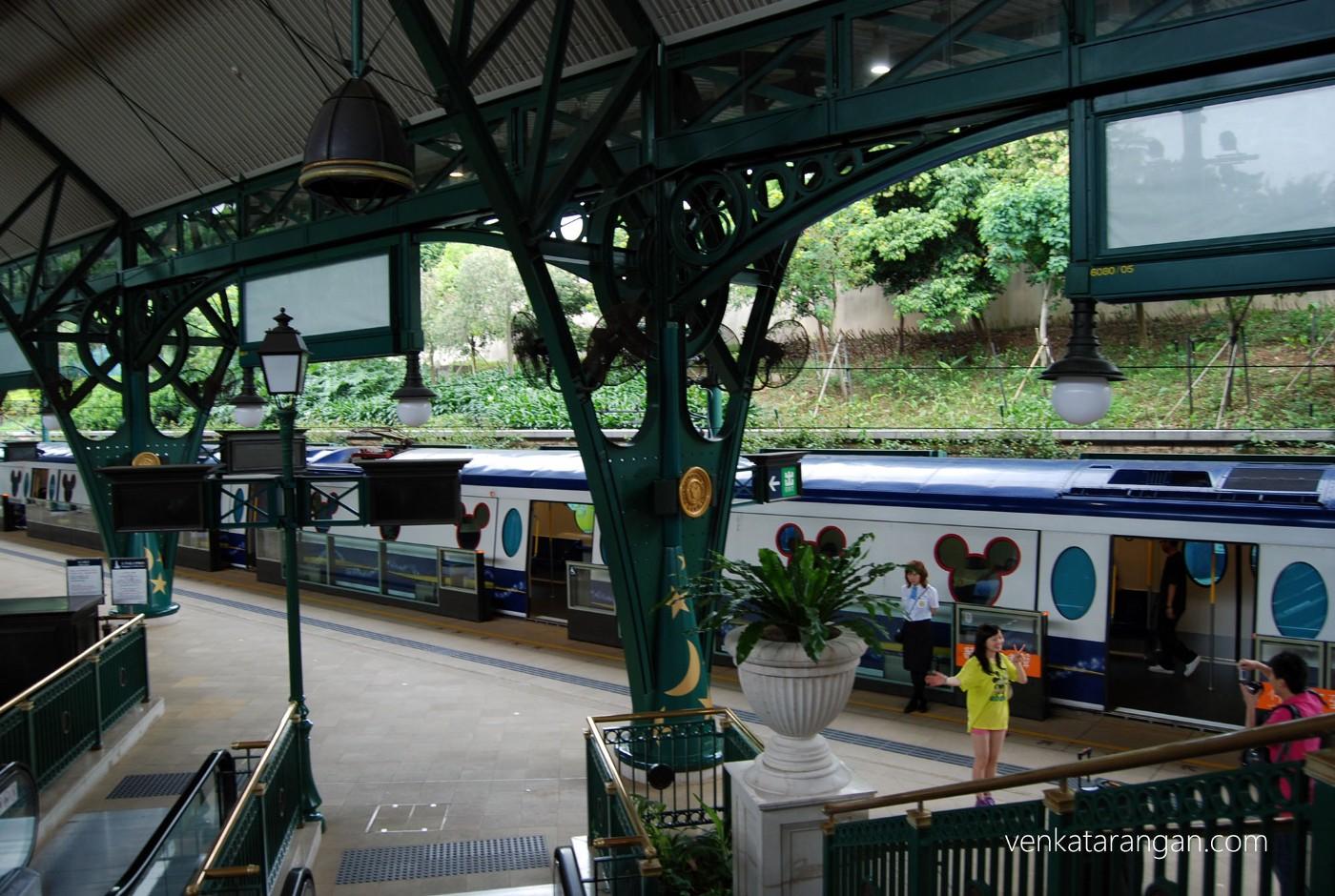 Hong Kong Disneyland MTR station